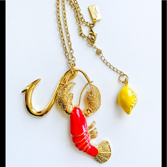 Lilly Pulitzer Lobster Necklace